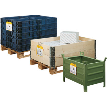 Orgatex container identification