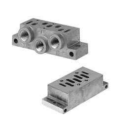pneumatics - base plates according to norm standards