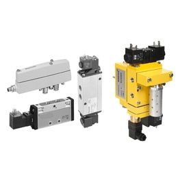 pneumatics - electrically operated valves