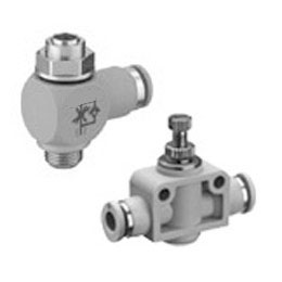 pneumatics - throttle check valves