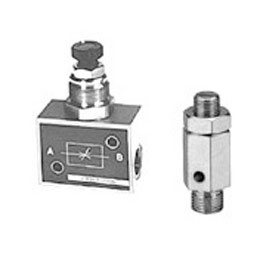 pneumatics - throttle valves