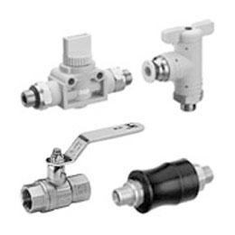 pneumatics - ball and shut-off valves