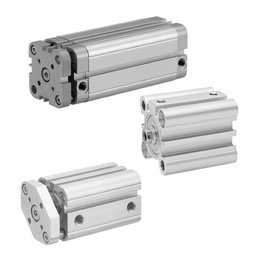 pneumatics- short-stroke and compact cylinders