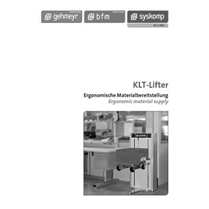 KLT-Lifter lifting unit